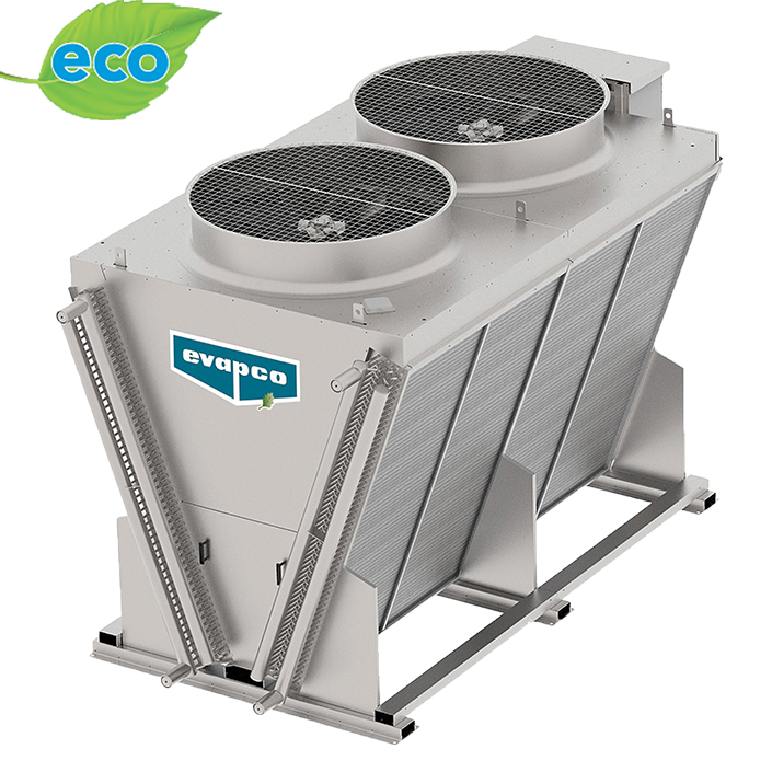 Eco Air Series V Configuration Industrial Dry Cooler Evapco