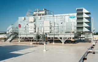 CPA-ULTRA Hygienic Air Handling System install